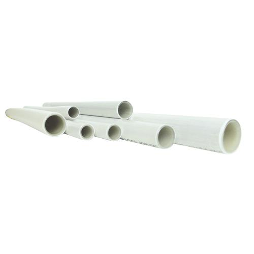 Lot de 3 Tubes multicouche en barre nu - Ø 32 mm - 4 m - blanc