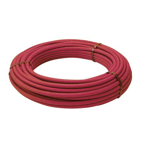 Tube PER nu Ø 16 mm - 100 m - PEX-A - rouge