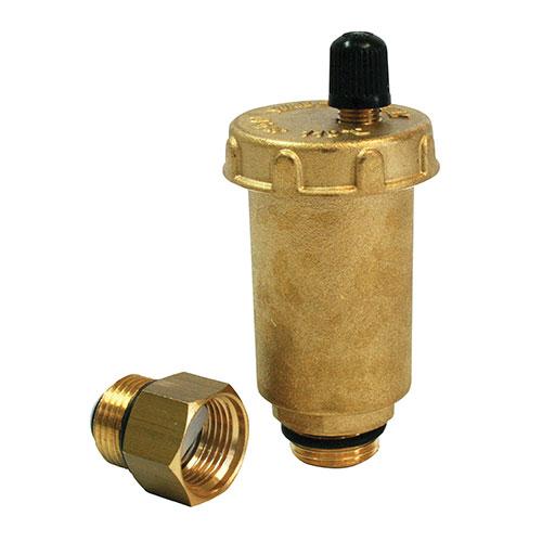 Mini purgeur d 39 air automatique laiton - Purgeur automatique radiateur ...