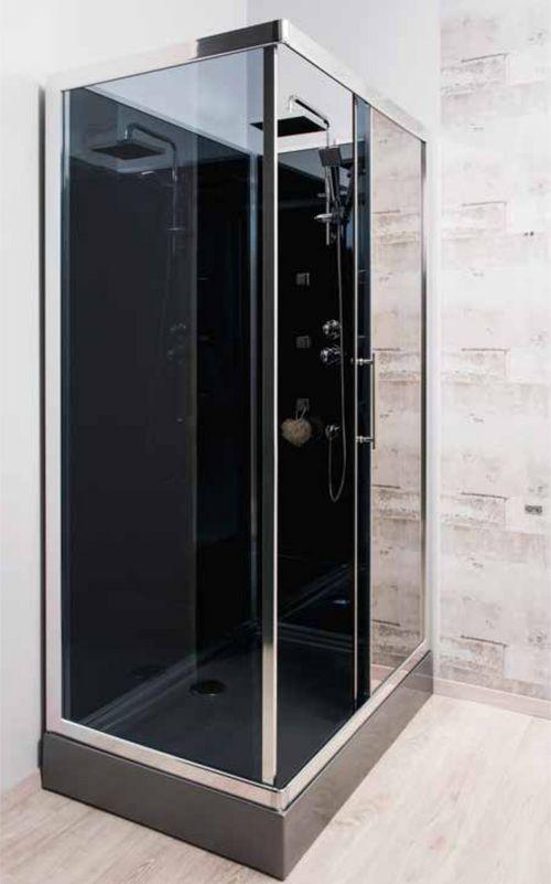 cabine de douche hydromassante delline120x080cm. Black Bedroom Furniture Sets. Home Design Ideas