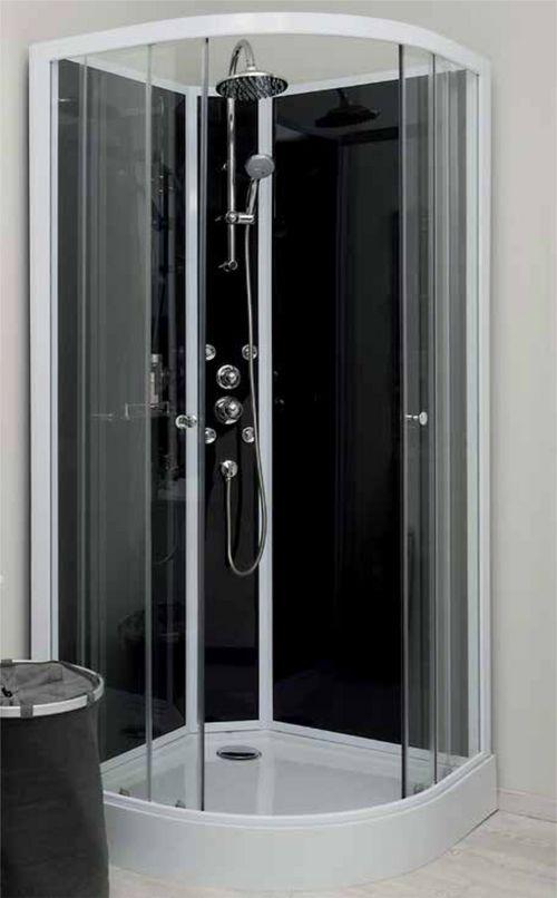 cabine de douche gena 1/4c 80cm