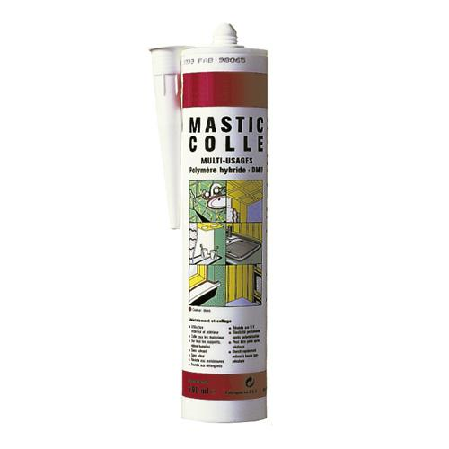 Mastic colle blanc multi-usages
