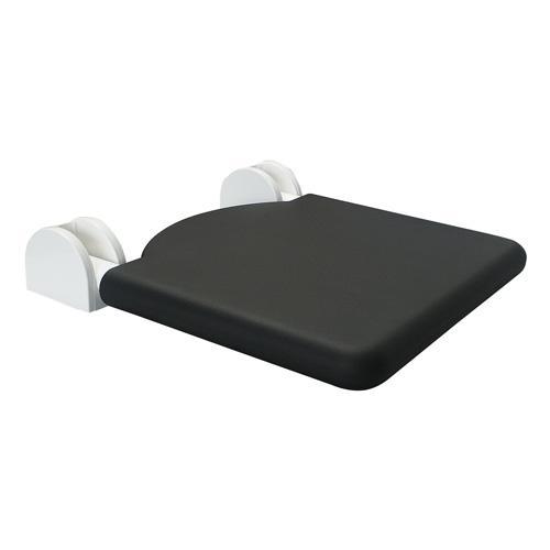 Siege de douche rabattable ergonomique noir robusto Siege rabattable pour douche