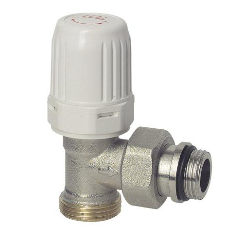 Robinet de radiateur querre thermostatisable pour tube cuivre ou per robusto - Robinet de vidange pour radiateur ...
