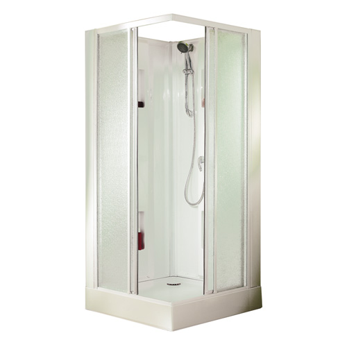 Cabines douches int grale carr rectangle 1 4 de cercle hydro massage - Cabine douche integrale 90x90 ...