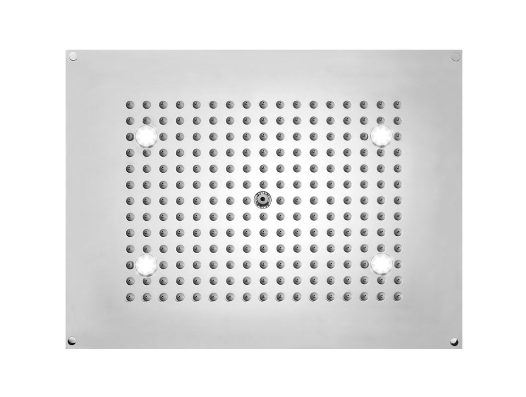 Plafond de douche Bossini DREAM Rectangular Flat Light